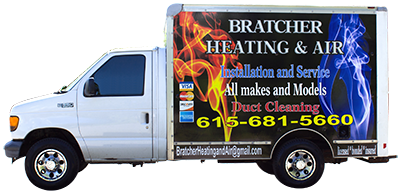 Call Bratcher Heating & Air